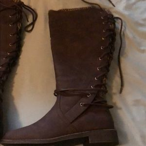 Shoes - New never worn brown riding boots